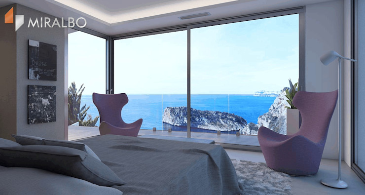 Villa Ciclopes Miralbo Excellence Modern style bedroom
