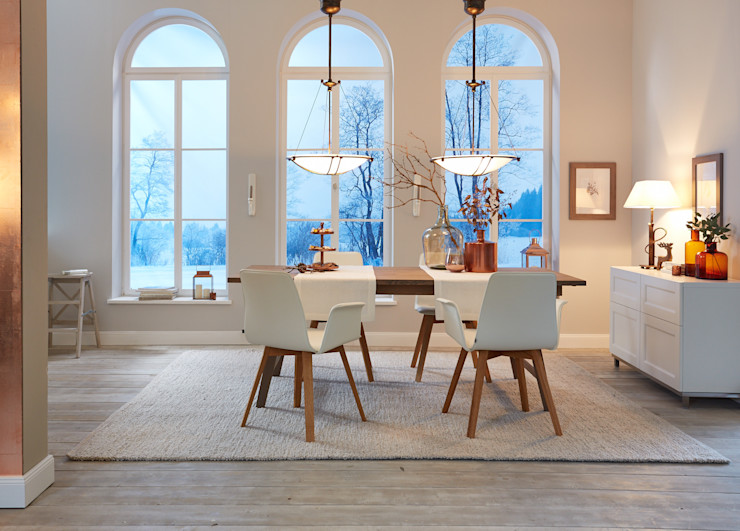 KwiK Designmöbel GmbH Dining roomChairs & benches Leather White