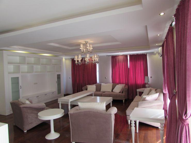 TELOS İÇ MİMARLIK VE TASARIM Living room