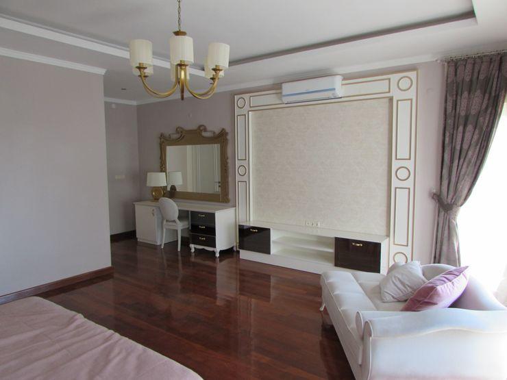 TELOS İÇ MİMARLIK VE TASARIM Eclectic style bedroom