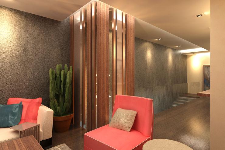 TELOS İÇ MİMARLIK VE TASARIM Modern Living Room