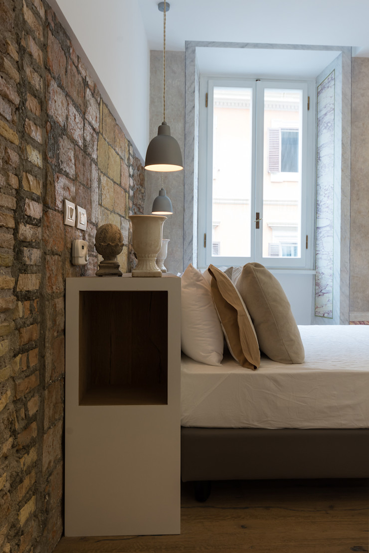 VIA SISTINA APT SERENA ROMANO' ARCHITETTO Camera da lettoAccessori & Decorazioni