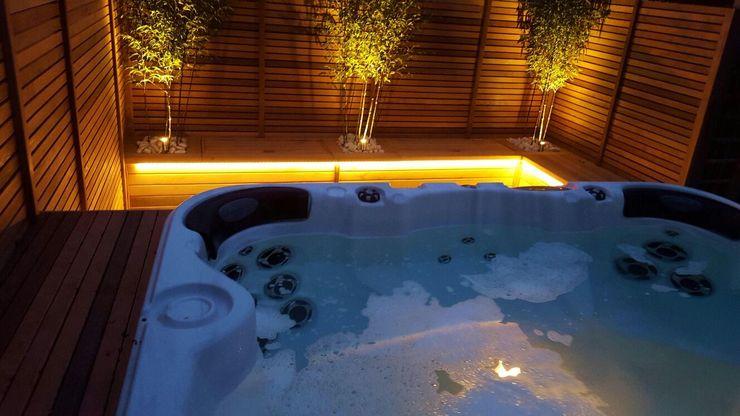 Swim spa Paul Newman Landscapes Scandinavian style spa