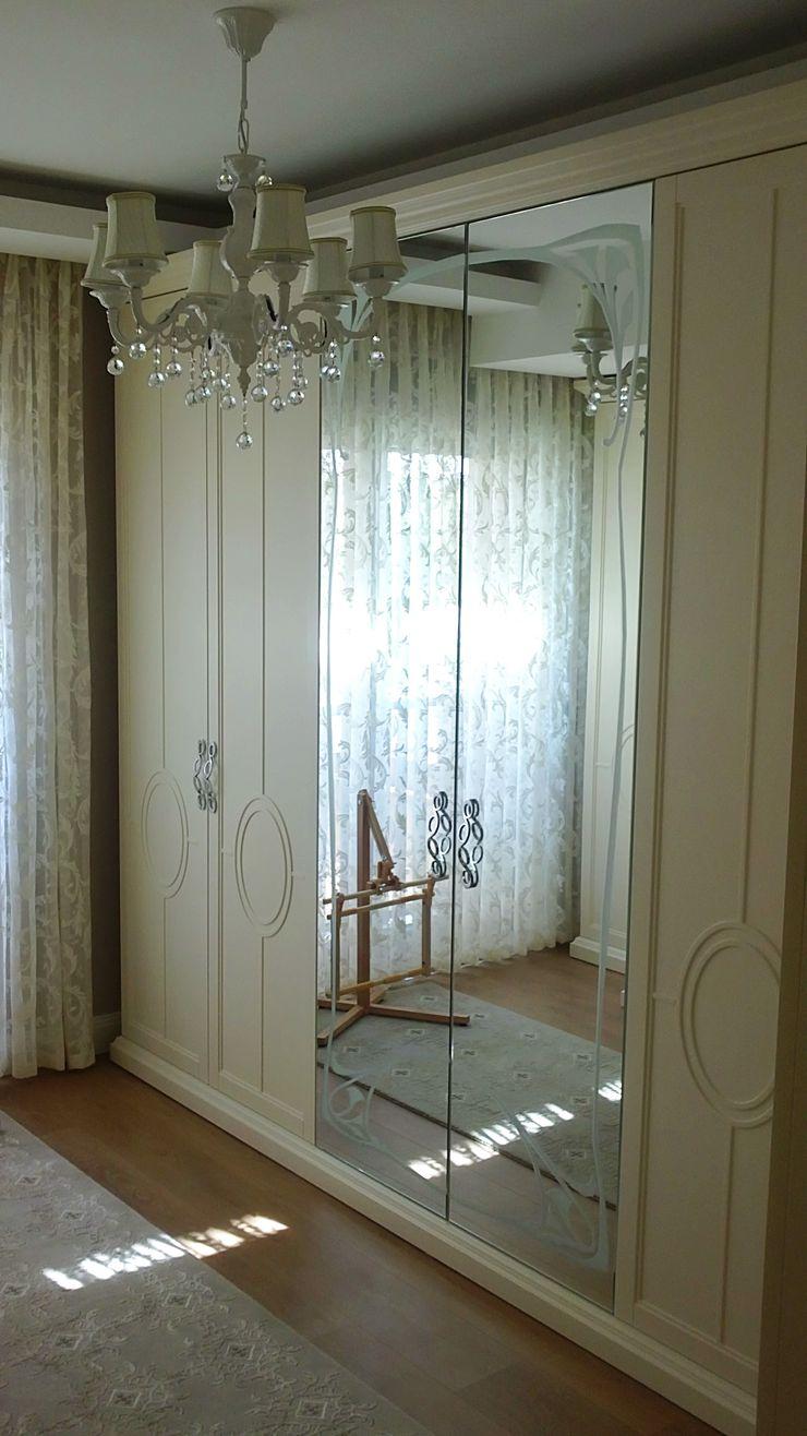 TELOS İÇ MİMARLIK VE TASARIM Eclectic style dressing rooms