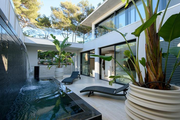 Villa GP frederique Legon Pyra architecte Spa moderne