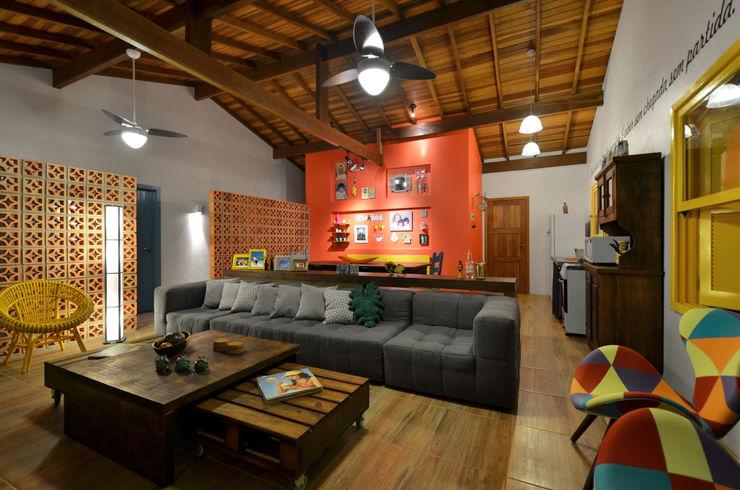 Arquitetando ideias Tropikal Oturma Odası