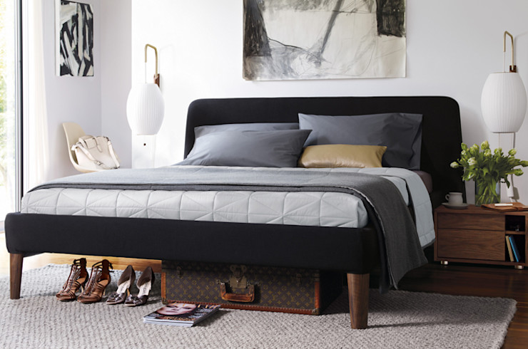 Design Within Reach Mexico BedroomBeds & headboards Textile Grey
