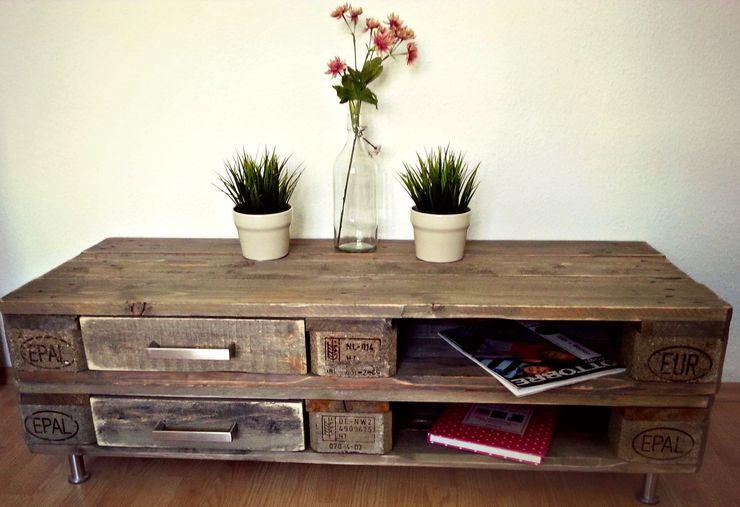 Kommode, Sideboard Panoply Design WohnzimmerSchränke und Sideboards Holz Grau