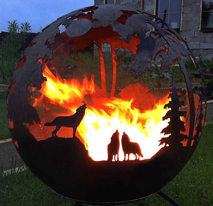 Firecup Garden Fire pits & barbecues Metal Black