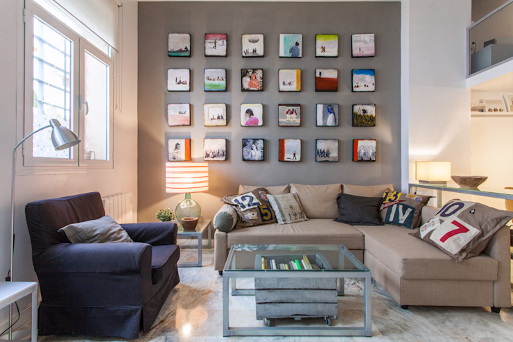 Pablo Cousinou 现代客厅設計點子、靈感 & 圖片