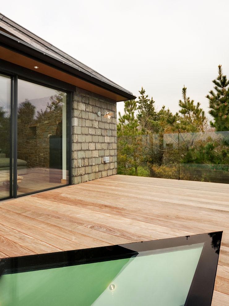 Down Barton, Devon Trewin Design Architects Modern balcony, veranda & terrace