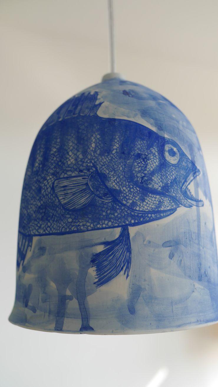 Bram van Leeuwenstein BedroomLighting Porcelain Blue