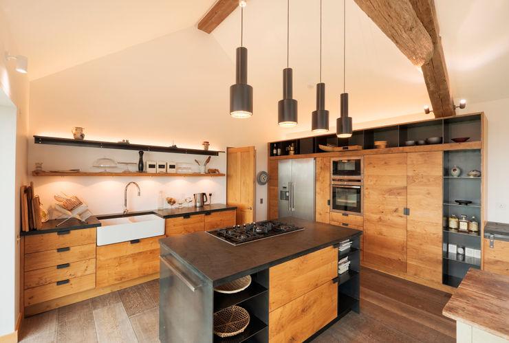 Down Barton, Devon Trewin Design Architects Modern style kitchen