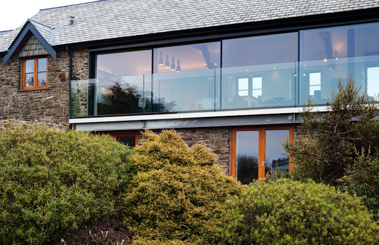 Down Barton, Devon Trewin Design Architects Modern houses