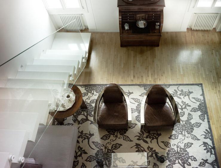 cristina mecatti interior design Ruang Keluarga Modern