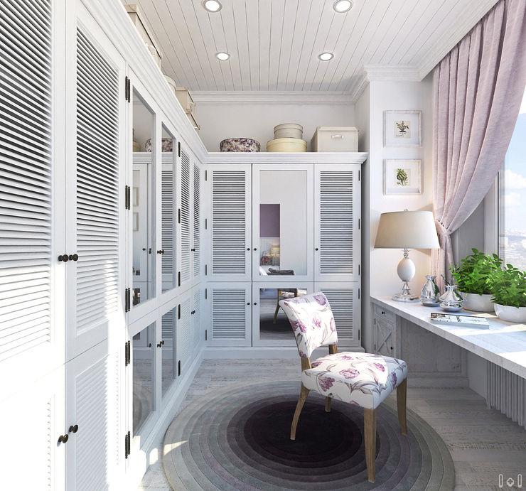 1+1 studio Classic style dressing room