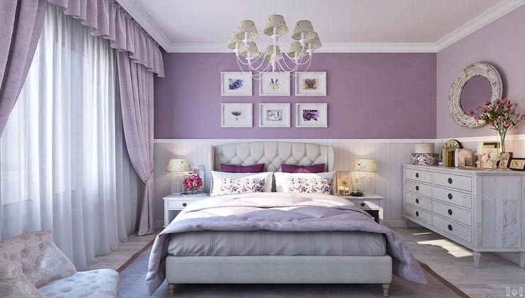1+1 studio Classic style bedroom