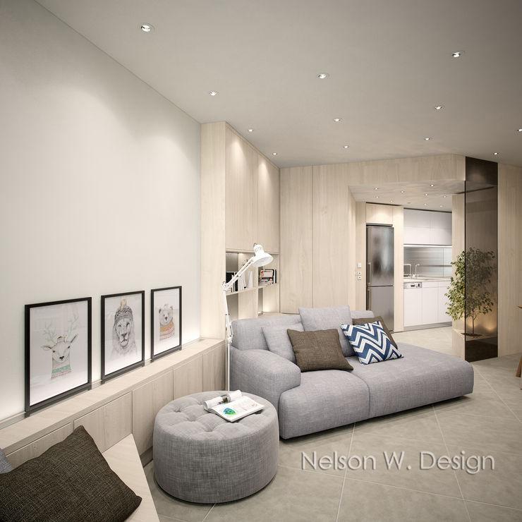 Illumination Terrace 光明臺 | Tai Hang Road 大坑道 Nelson W Design Salones modernos Madera Beige