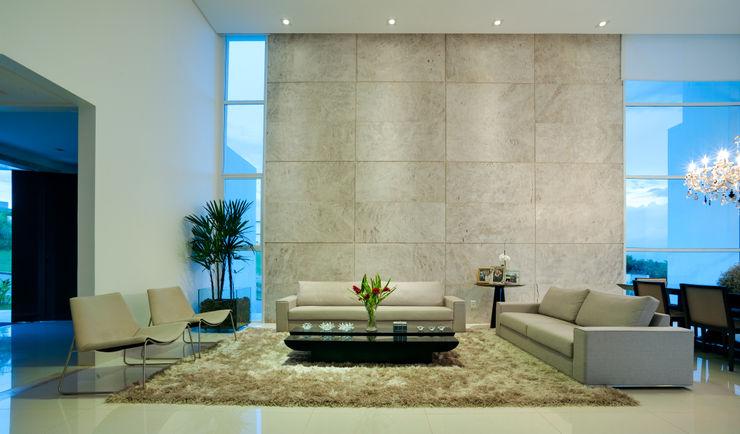 dayala+rafael arquitetura Salones modernos Piedra