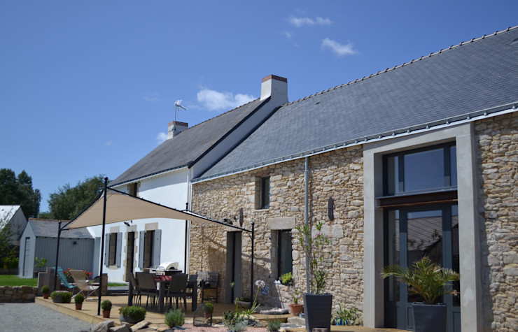 Courants Libres Industrial style houses