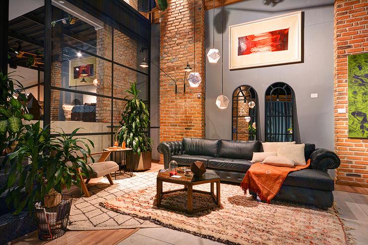 The Blue House Soggiorno moderno