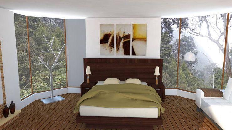 Trianaarquitectos Modern style bedroom