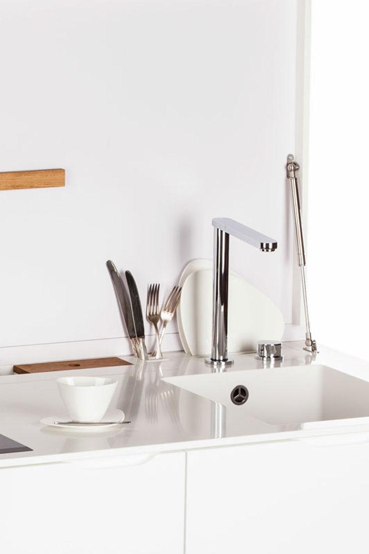 Charlotte Raynaud Studio CocinaMesadas de cocina Blanco