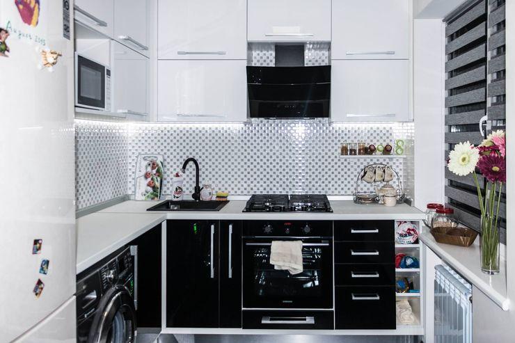 SOROCHAN ART DESIGN Cocinas minimalistas Blanco