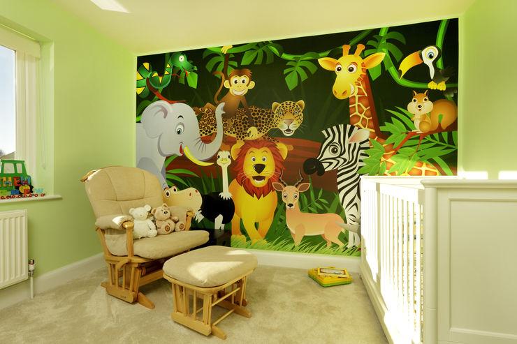 The Ridgeway Civic Design + Build Modern nursery/kids room