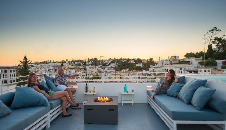 studioarte Balcones y terrazas de estilo minimalista