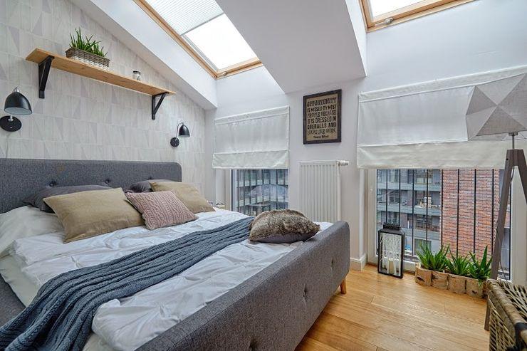 DreamHouse.info.pl Scandinavian style bedroom