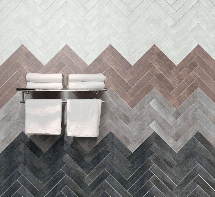 Jamestown White, Brown, Grey & Black The London Tile Co. Walls & flooringTiles