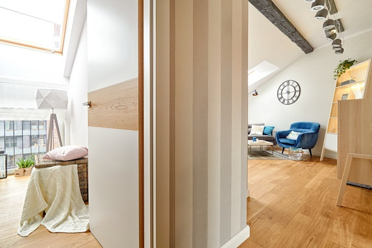 DreamHouse.info.pl Scandinavian corridor, hallway & stairs