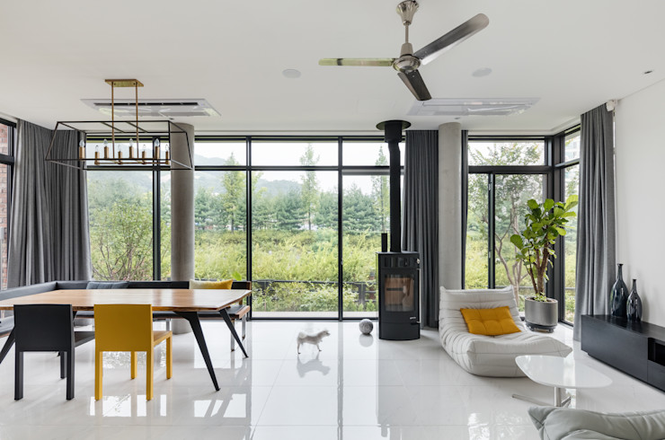 aandd architecture and design lab. Living room