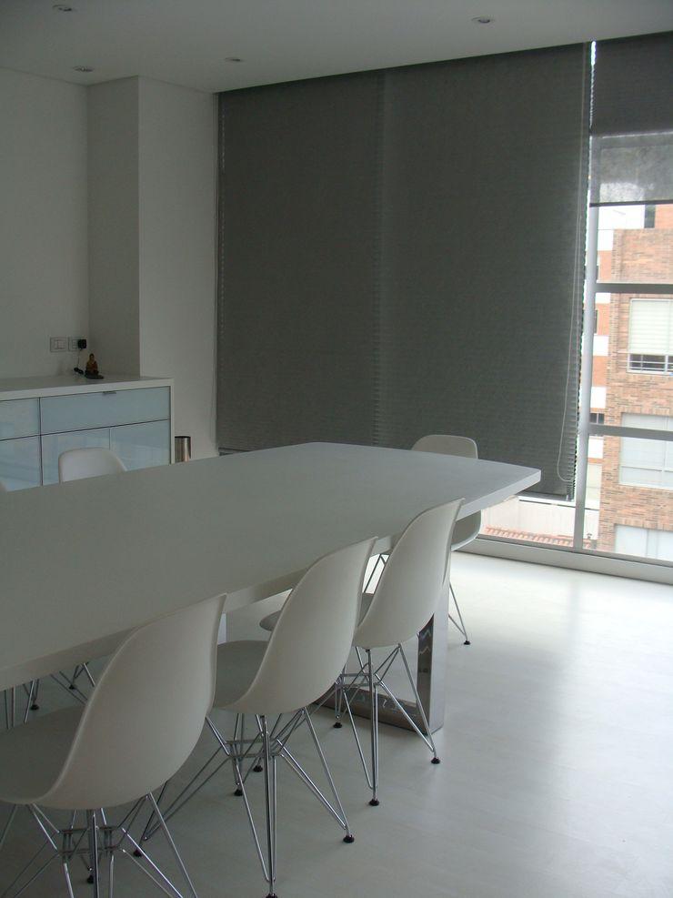 Mako laboratorio Dining roomTables Plastic White