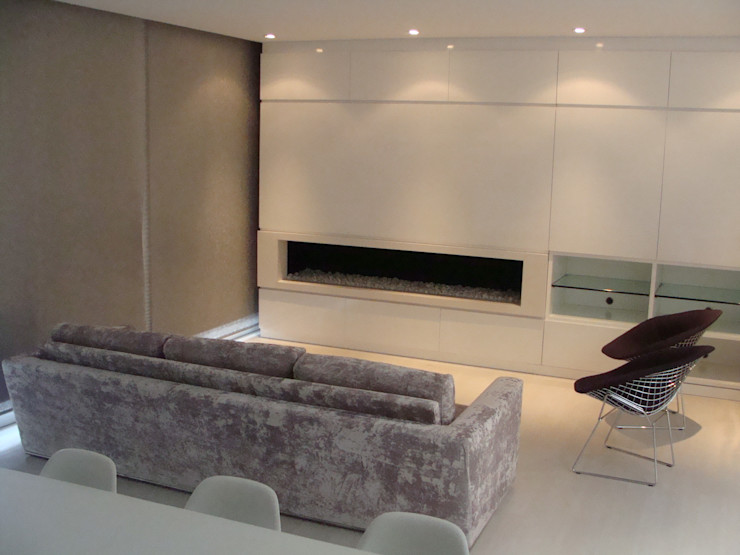 Mako laboratorio Living roomStorage Wood White