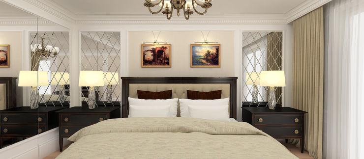Kerim Çarmıklı İç Mimarlık Classic style bedroom