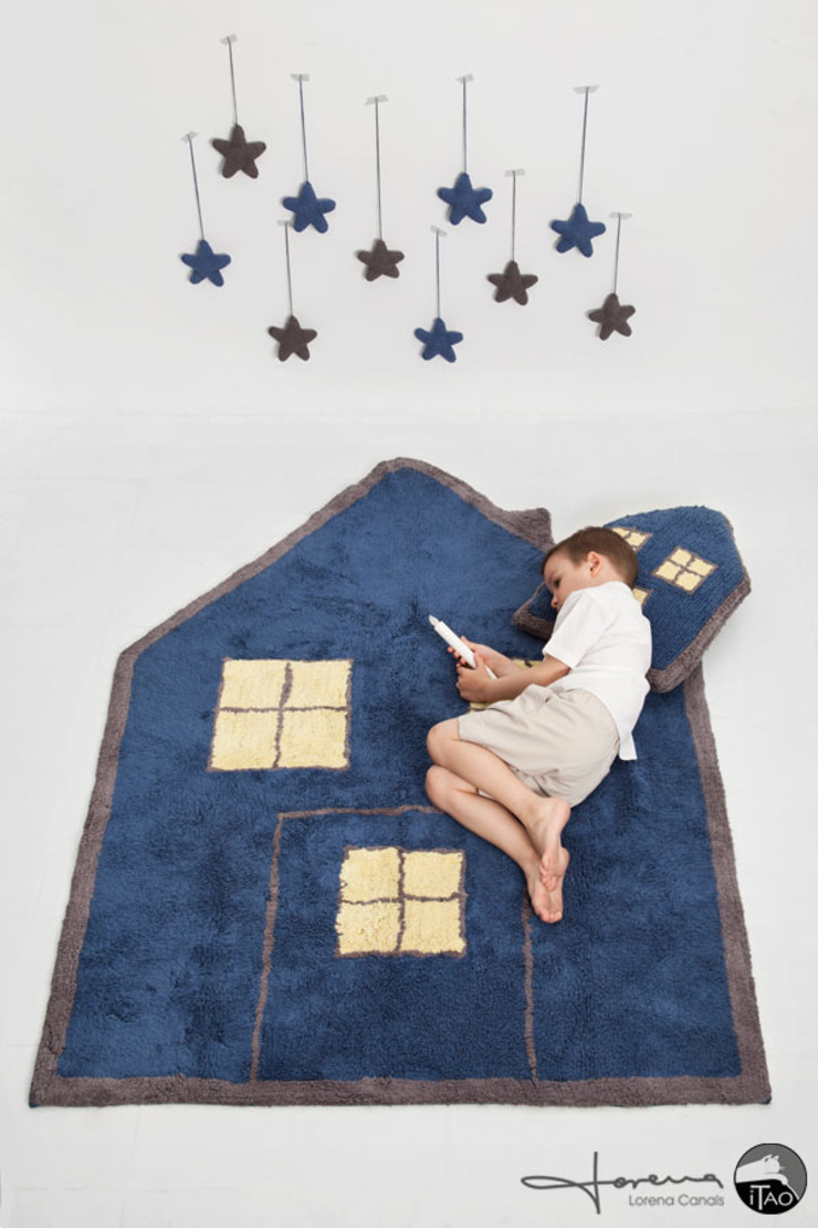 ITAO Nursery/kid's roomAccessories & decoration Cotton Blue