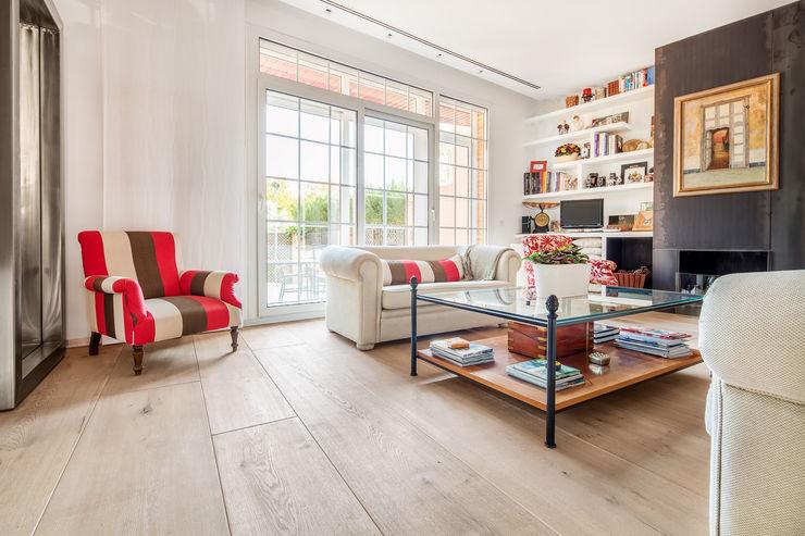 Tarimas de Autor Living room Wood