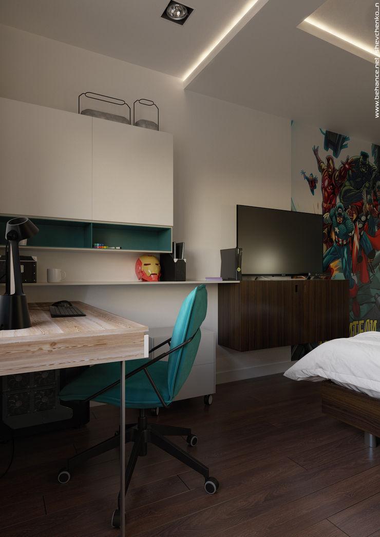Shevchenko_Nikolay Studio minimalista
