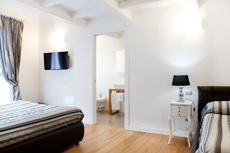senzanumerocivico Спальня в стиле модерн