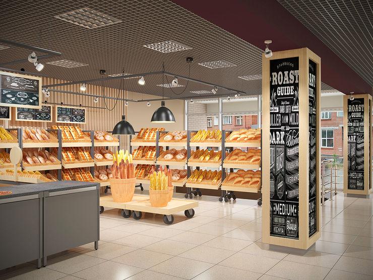 INCUBE Алексея Щербачёва Shopping Centres