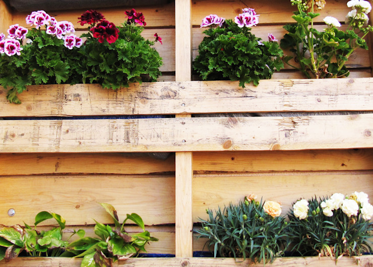 The JAM Terrace Aida Lopez Paisajista Balconies, verandas & terraces Furniture