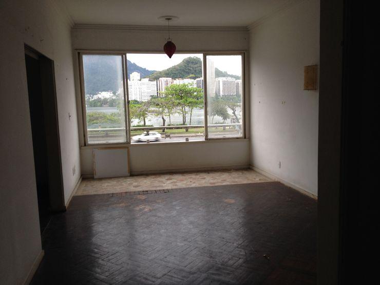 Antes - sala Adriana Leal Interiores