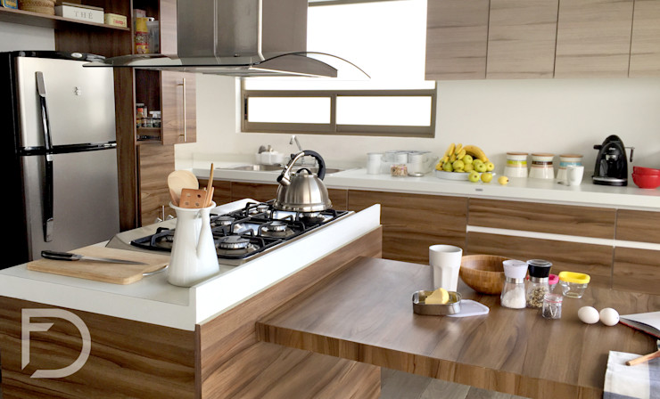 homify Modern style kitchen Wood