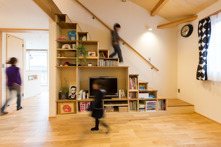 リノクラフト株式会社 Living roomStorage خشب White