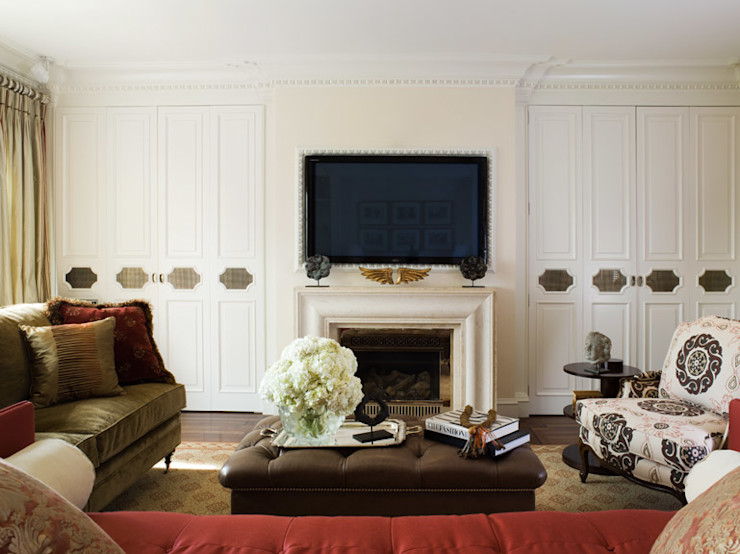 Antonio Martins Interior Design Inc Classic style living room