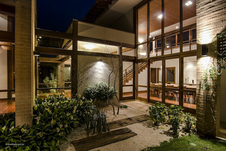 Casa em Itu Mellani Fotografias Moderner Garten