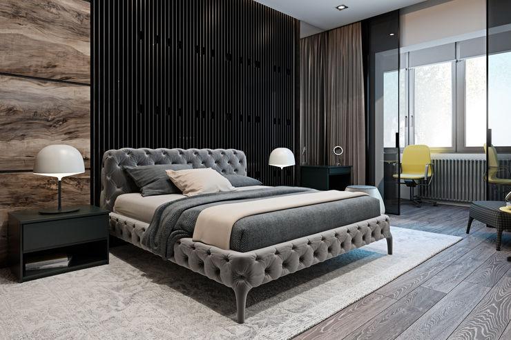 Diff.Studio Minimalistische slaapkamers