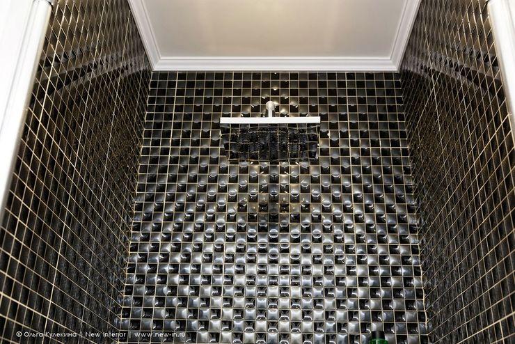 Квартира с террасой «Черное золото» Ольга Кулекина - New Interior Ванная комната в стиле модерн